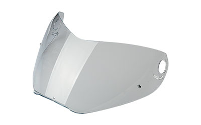 Clear anti-scratch visor with pins (Large shell)