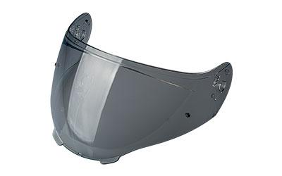Smoke anti-scratch visor with pins