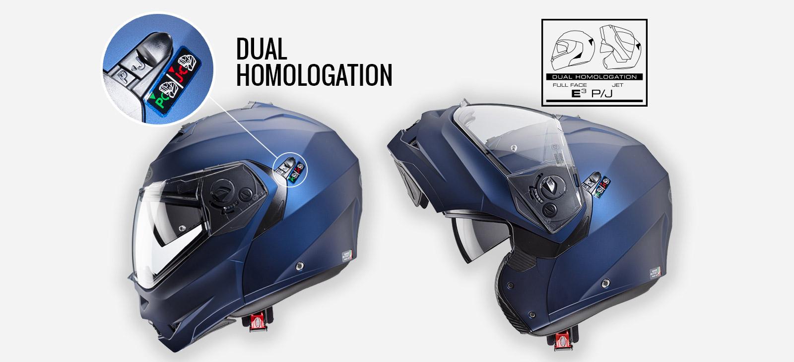 Caberg Duke helmet characteristics