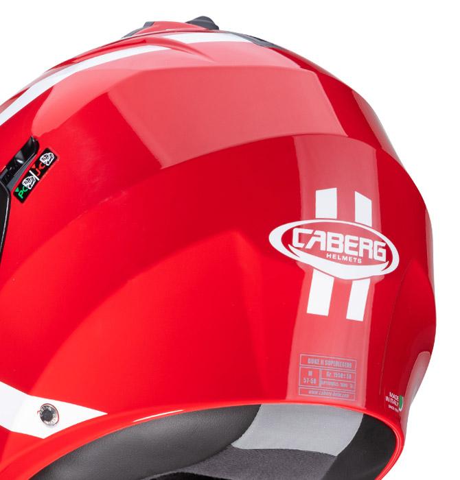 Caberg Duke II helmet characteristics