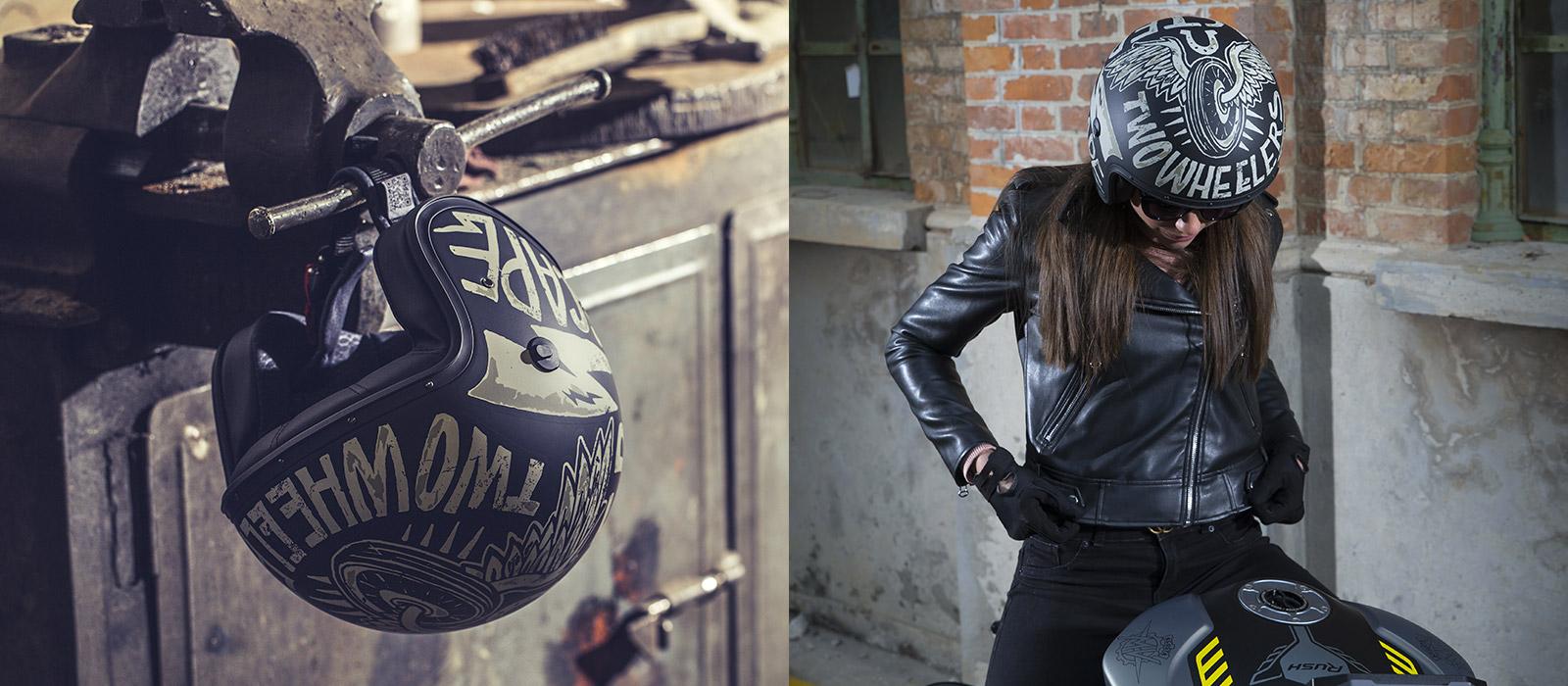 Caberg Freeride helmet characteristics