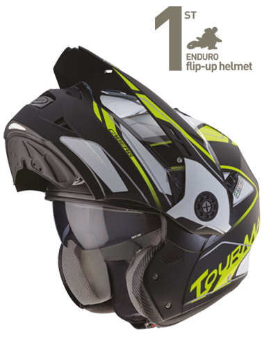 Caberg Tourmax helmet detail