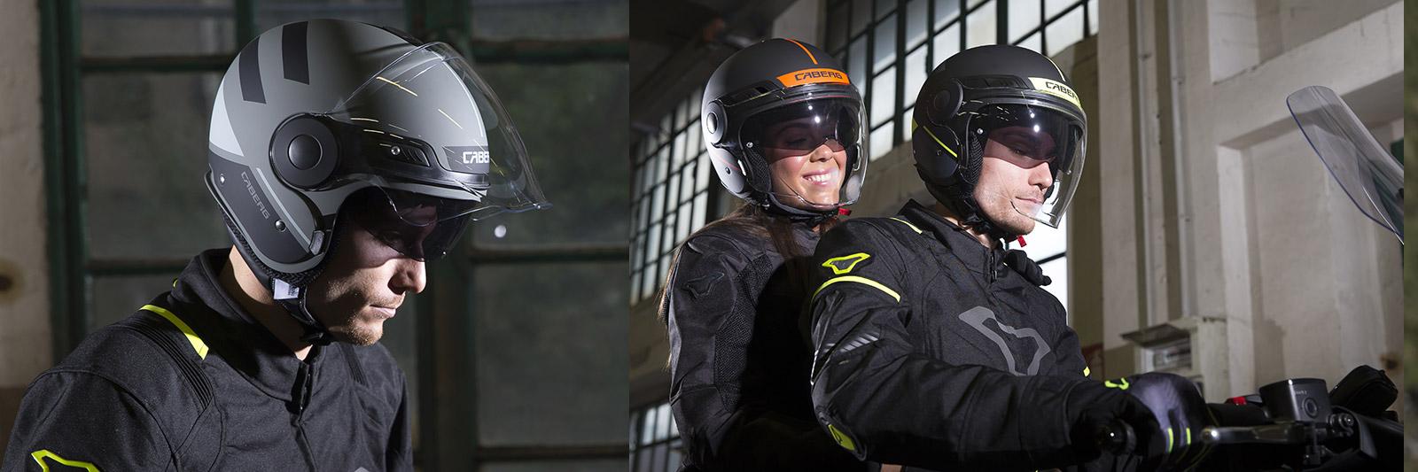 Caberg Uptown helmet characteristics