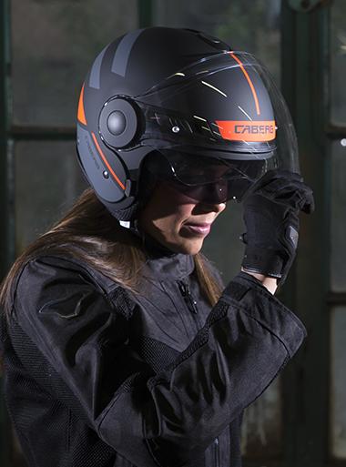 Caberg Uptown helmet detail