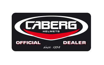 Caberg official dealer sticker