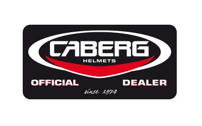 Caberg official dealer sticker
