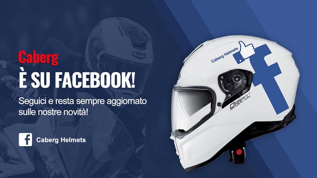 Segui Caberg su Facebook