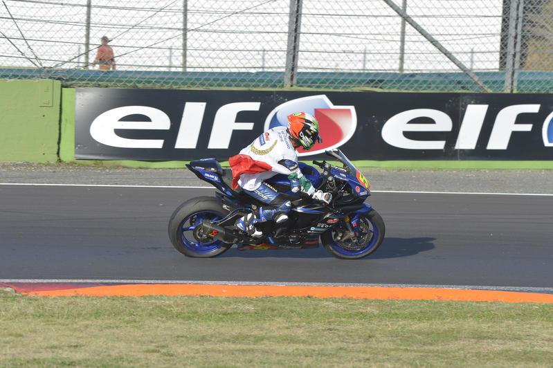 Massimo Roccoli is the 2018 Supersport 600 Italian champion !