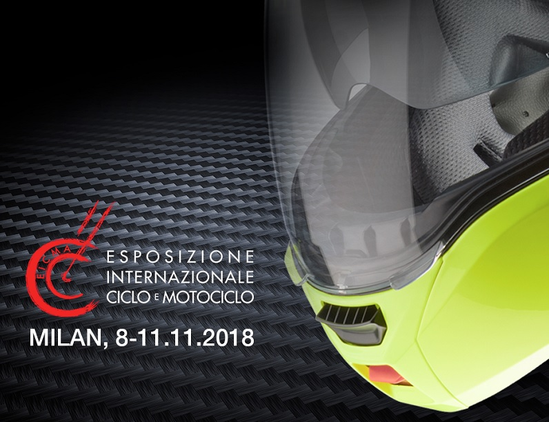Save the date: from 8th to 11th November Caberg will be at EICMA 2018!