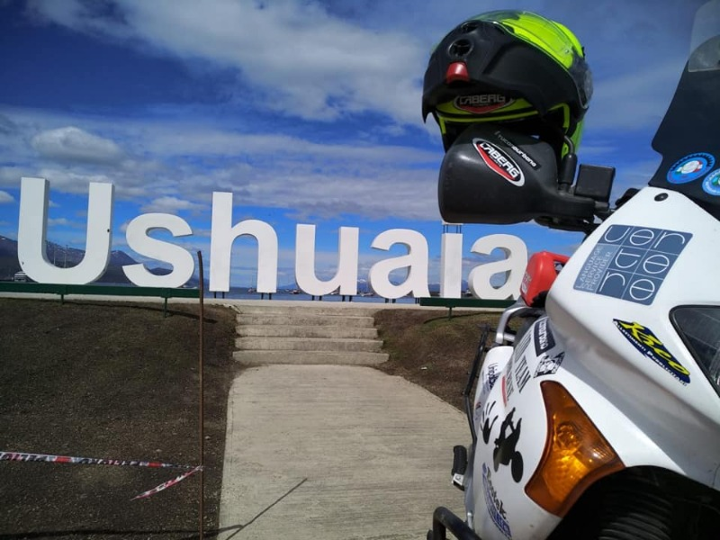 Caberg proudly supports Raid for Aid ride through Argentina to help rural schools!