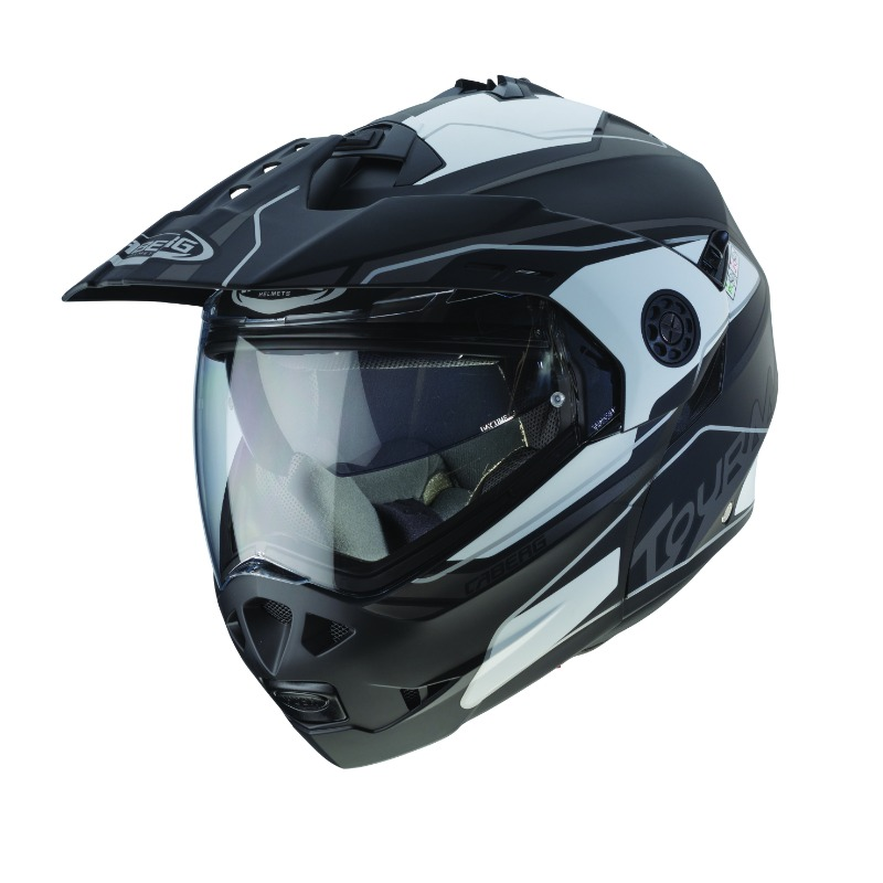 Tourmax Marathon, the flip-up adventure helmet conceived for all the Enduro and Maxi Enduro motorcycles owners