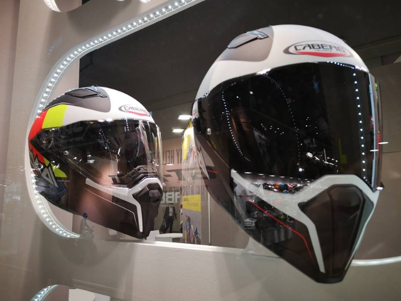 Caberg at Eicma 2018: a huge and shared success, full of accomplishments and nice meetings