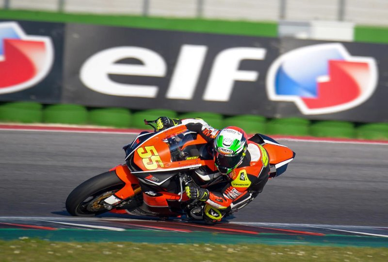 FIRST ROUND OF 2019 CIV AT MISANO FOR THE CABERG RIDERS