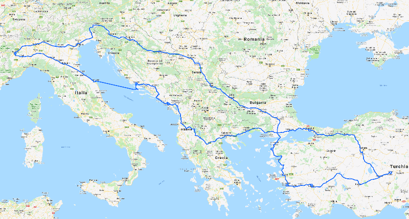 #TurchiaInMoto: 7000km from Turin to Cappadocia