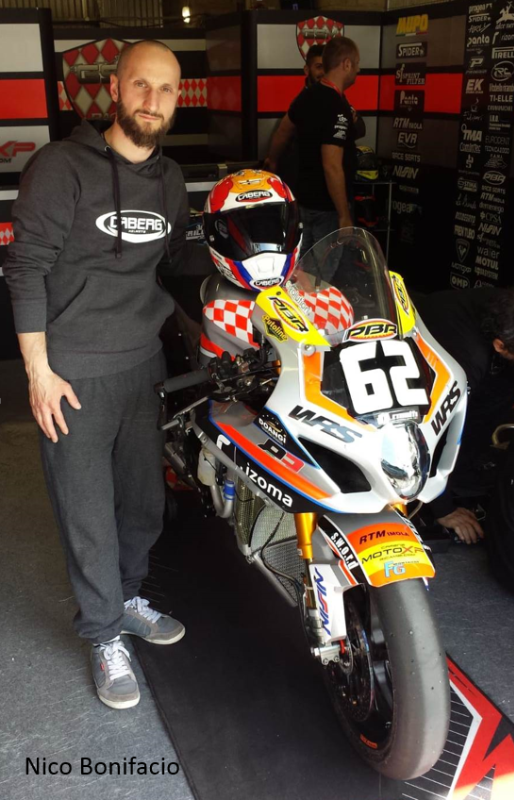 CABERG RIDERS AT 24H LE MANS