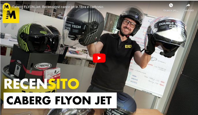MOTO.IT REVIEWED THE NEW JET FLYON