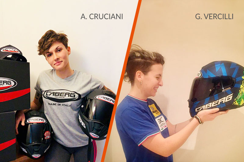 GIULIA VERCILLI AND AURELIA CRUCIANI TOGETHER AT THE WOMEN'S EUROPEAN CUP 2021