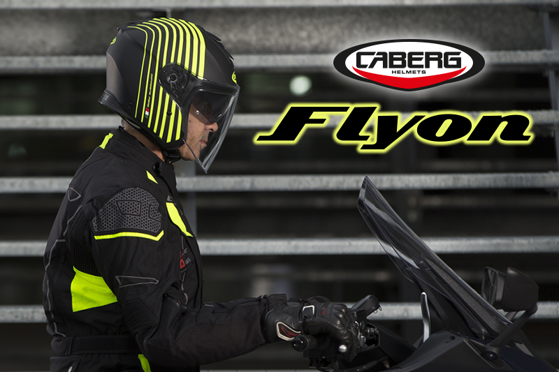 The FLYON is the ideal open face for your daily urban commutes
