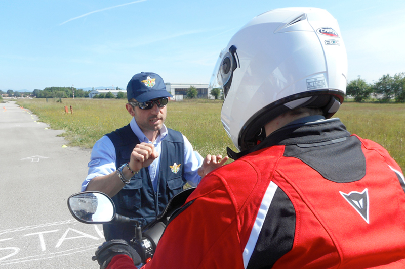 Road safety program: Caberg with the Italian Motorcycle Federation