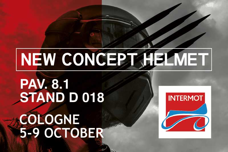 Save the date: from the 5th to the 9th of October Caberg will be at Intermot 2016!