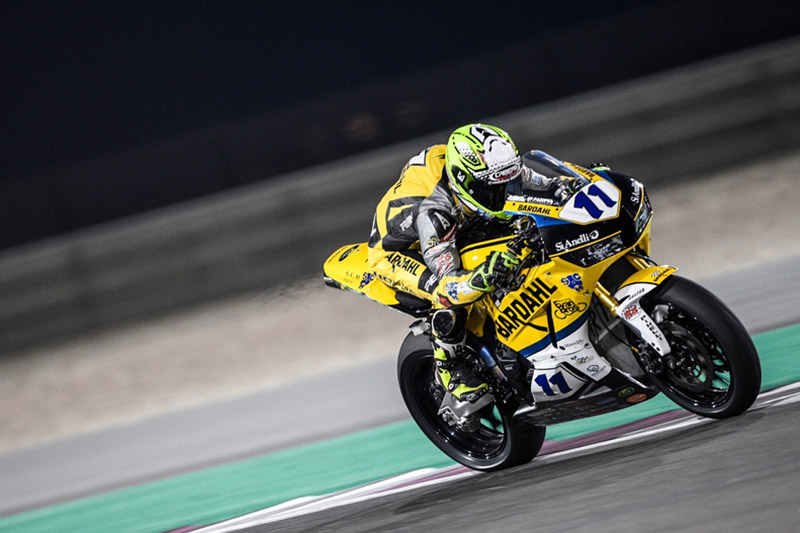 Twelfth for Gamarino in the final WSSP race at Losail