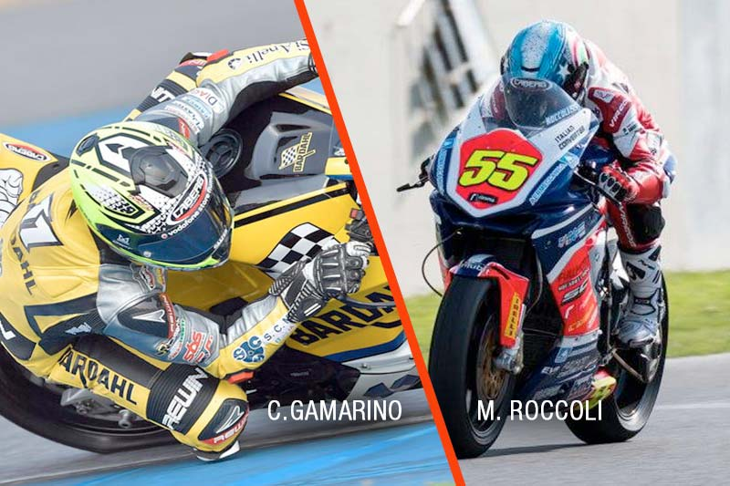 Supersport riders Roccoli and Gamarino are ready for season 2018!