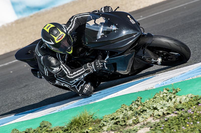 Ayrton Badovini concludes the WSSP tests in Jerez and Portimao