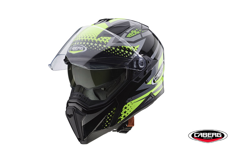 Caberg Jackal: the new full face with a sporty and dynamic design