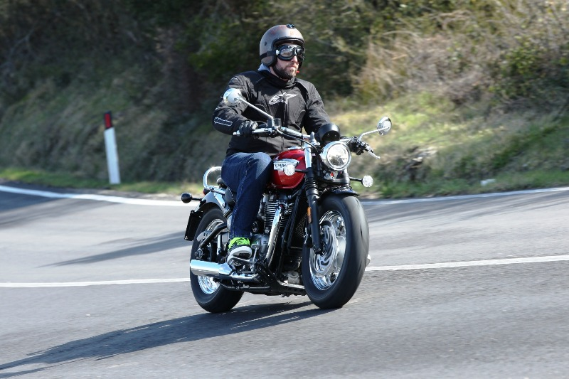 Daidegasforum.com has taken part in the test ride Triumph with our Freeride Rusty