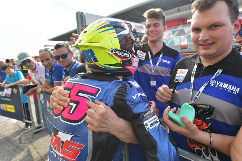 CIV, four second places for the #Cabergriders at Mugello