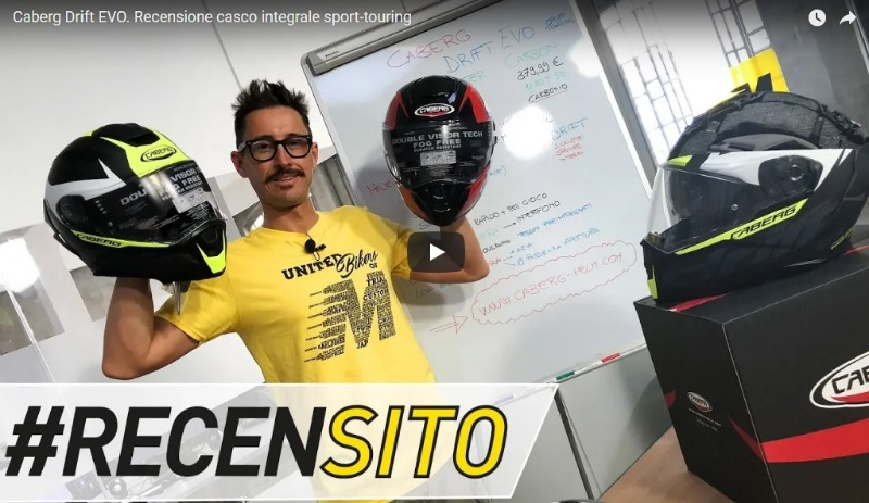 Moto.it has reviewed the Caberg DRIFT EVO - VIDEO