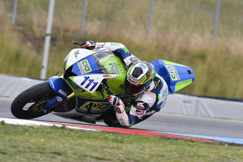 Great results in Brno and Oschersleben for the #Cabergriders Kyle Smith and Christian Gamarino