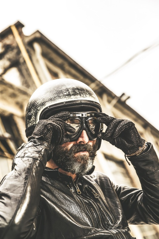 Freeride Sandy, the Caberg jet helmet with a stylish and vintage look