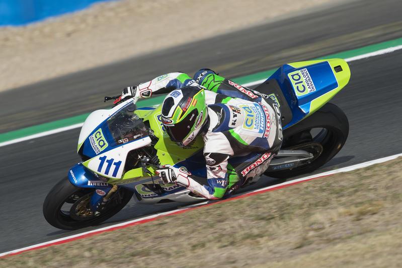 A great SSP300 race for Luca Bernardi at Magny Cours circuit