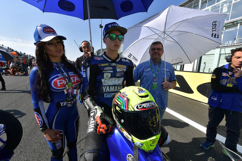 A great SSP300 race for Luca Bernardi at Magny Cours circuit