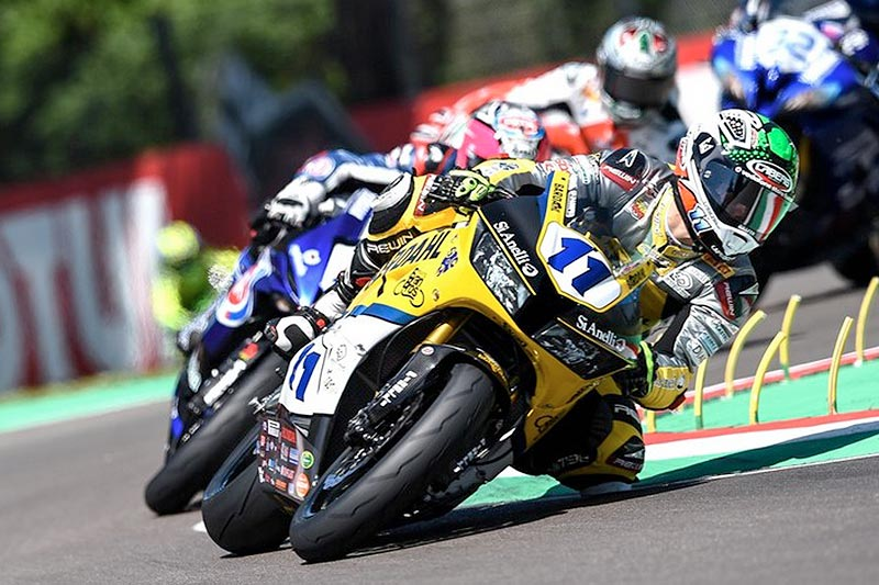 7° posto per Gamarino e il Bardahl Evan Bros. Honda Racing team nella gara WSS a Imola