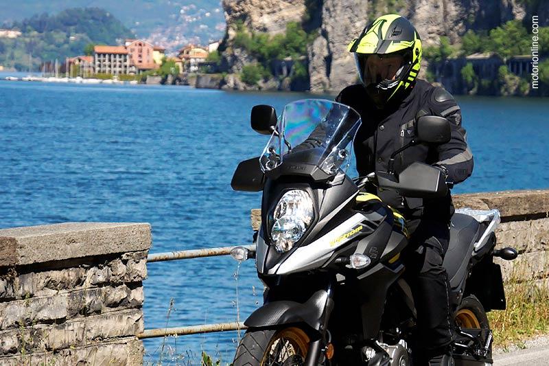 infomotori.com testa la Suzuki V-Strom 650 XT con il Caberg Xtrace!