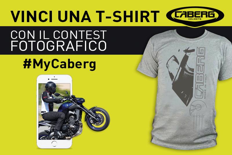 Vinci una T-shirt con il contest fotografico #MyCaberg