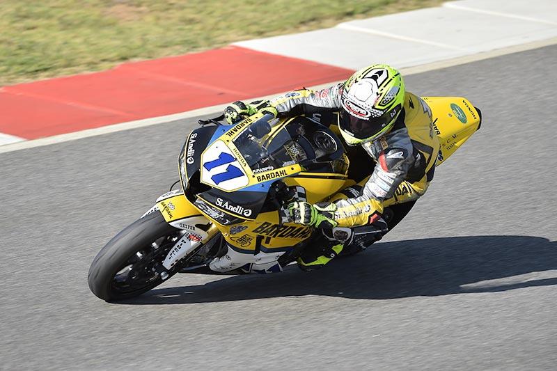 Gamarino è sesto nella gara WSSP di Portimao