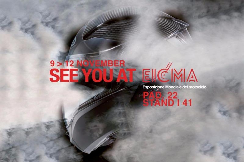 EICMA 2017: appuntamento allo stand CABERG dal 9 al 12 novembre 2017!