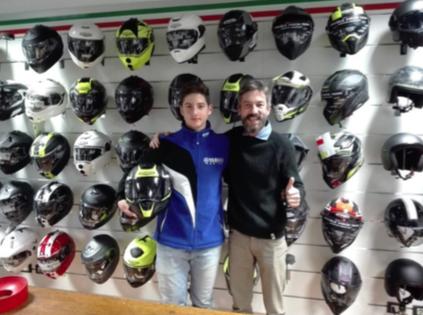 Aumenta l'impegno di Caberg nel settore racing