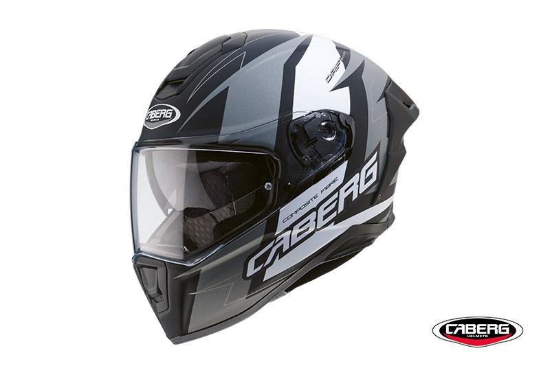 Drift Evo: il nuovo integrale Caberg per soddisfare i motociclisti dall'indole più sportiva