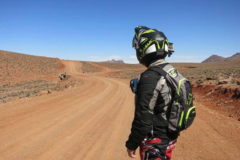 Travelbike recensisce Caberg Tourmax Marathon dopo l'incredibile viaggio in Marocco