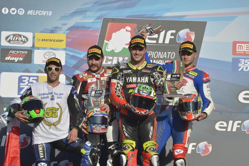 Massimo Roccoli Campione Italiano Supersport 600 - 2018!