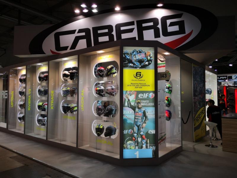 Moto.it svela le novità Caberg presentate a Eicma 2018
