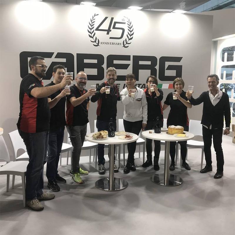 Caberg ad Eicma 2018: un successo condiviso, ricco di soddisfazioni e incontri