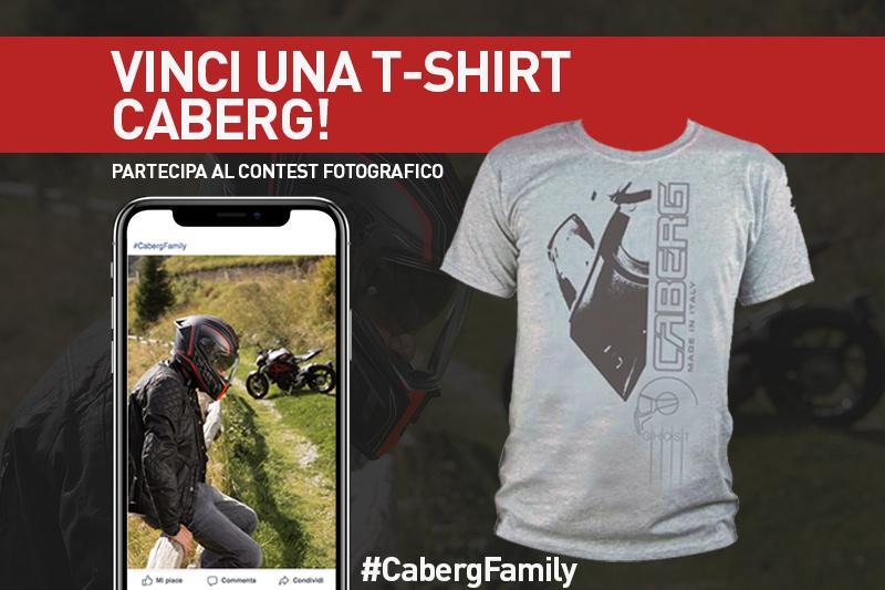 Vinci una T-shirt Caberg! Partecipa al contest fotografico