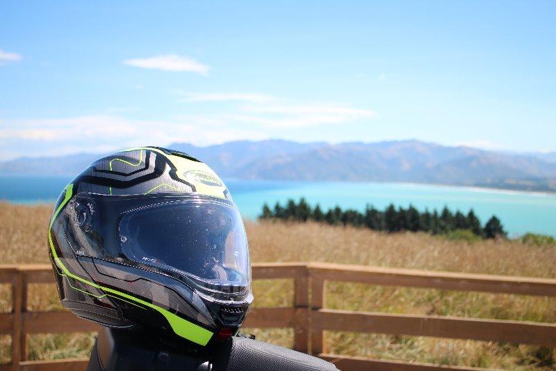 AMOTOMIO.it  ha recensito il nuovo modello apribile LEVO durante uno stupendo viaggio in Nuova Zelanda.