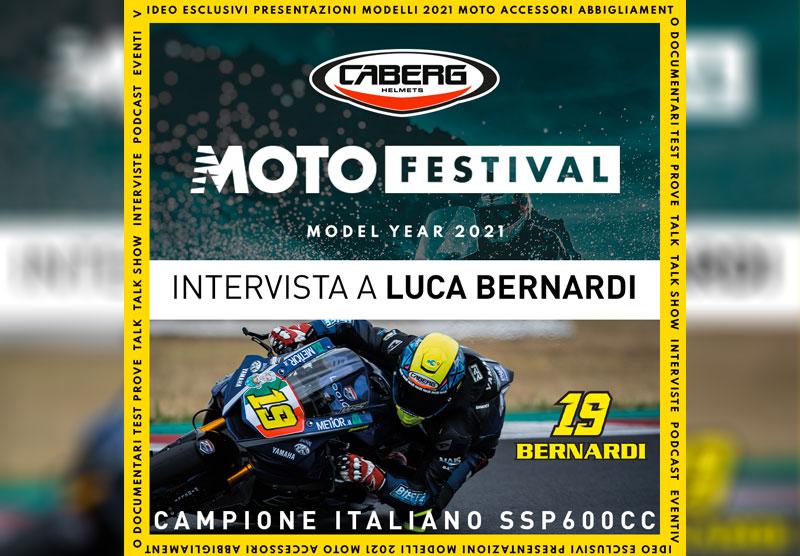 LUCA BERNARDI, NUOVO CAMPIONE ITALIANO SUPERPOSRT 600