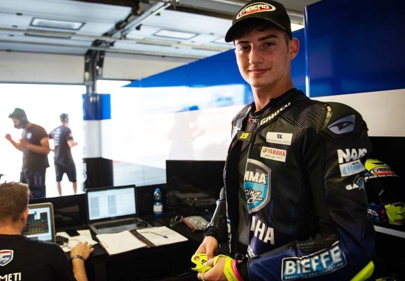 Luca Bernardi e Cm Racing in pista nel Worldssp con il sostegno del Bardahl Evan Bros